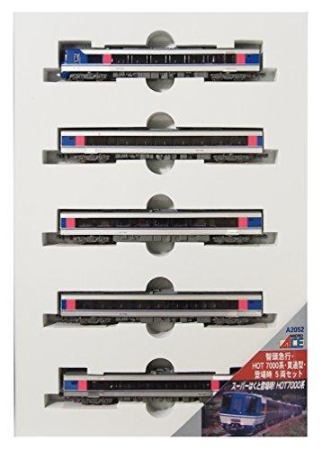 マイクロエース  A2052  智頭急行 HOT 7000系 貫通型 登場時 5両 MICROACE 鉄道模型 Nゲージ