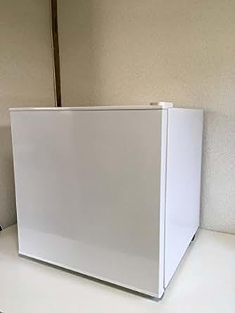 ユーイング 50L 1ドア冷蔵庫(直冷式)ホワイトUING UR-D50H-W