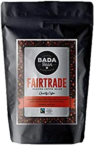 Bada Bean Coffee, Fairtrade, Roasted Beans. Fresh Roasted Daily. Award Winning Speciality Coffee Beans. 250g (