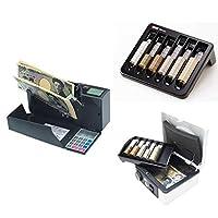 (セット)紙幣計数機 ダイトDN-100+手提金庫DS+コインカウンターCC-300
