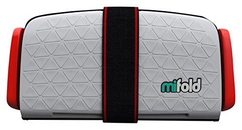 mifold(マイフォールド) ジュニアシート 携帯型 15~36kg (持ち運び簡単) チャイルドシート パールグレー [日本正規品] BCMI00105