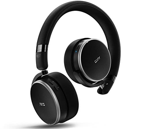 AKG N60NCWIRELESSワイヤレスノイズキャンセリングヘッドホン Bluetooth 密閉型 AAC/apt-X対応【国内正規品】 AKGN60NCBTBLK