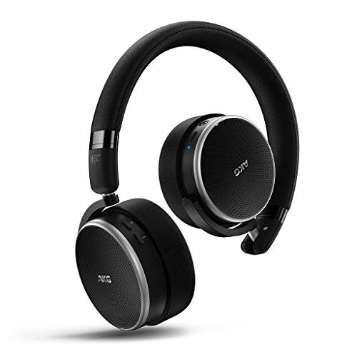AKG N60NCBT Bluetoothヘッドホン  密閉型/ノイズキャンセリング N60NCBTBLK 【国内正規品】
