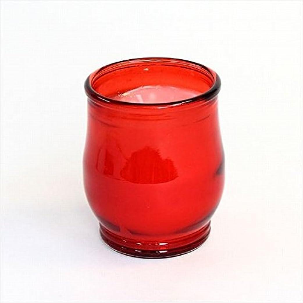 共産主義者コントローラ余計なkameyama candle(カメヤマキャンドル) ポシェ(非常用コップローソク) 「 レッド 」 キャンドル 68x68x80mm (73020000R)