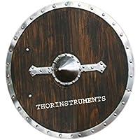 Viking Shield – ブラウン木製 – フルサイズレプリカ中世Shield