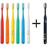 タフト24 歯ブラシ× 10本 (M) キャップなし + 艶白ツイン 歯ブラシ (M ふつう) ×1本 むし歯予防 歯科専売