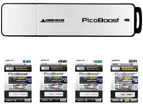 グリーンハウス Ready Boost対応 高速モデル USB2.0フラッシュメモリ 4GB GH-UFD4GBS