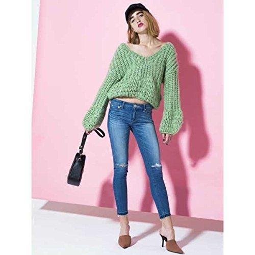 GYDA ジェイダ hand knitting ボリュームスリーブニットトップス 071812611401