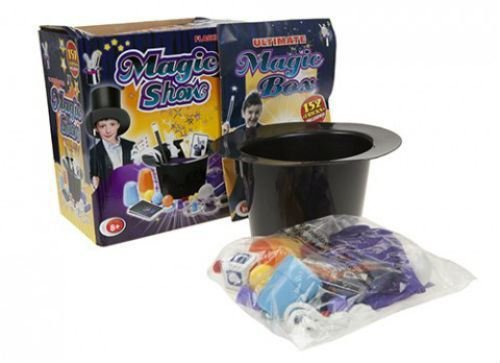 Kids Children Boys Girls 152 Tricks Ultimate Magic Magician's Hat Show Box Set Kit Mystic Magic Wand