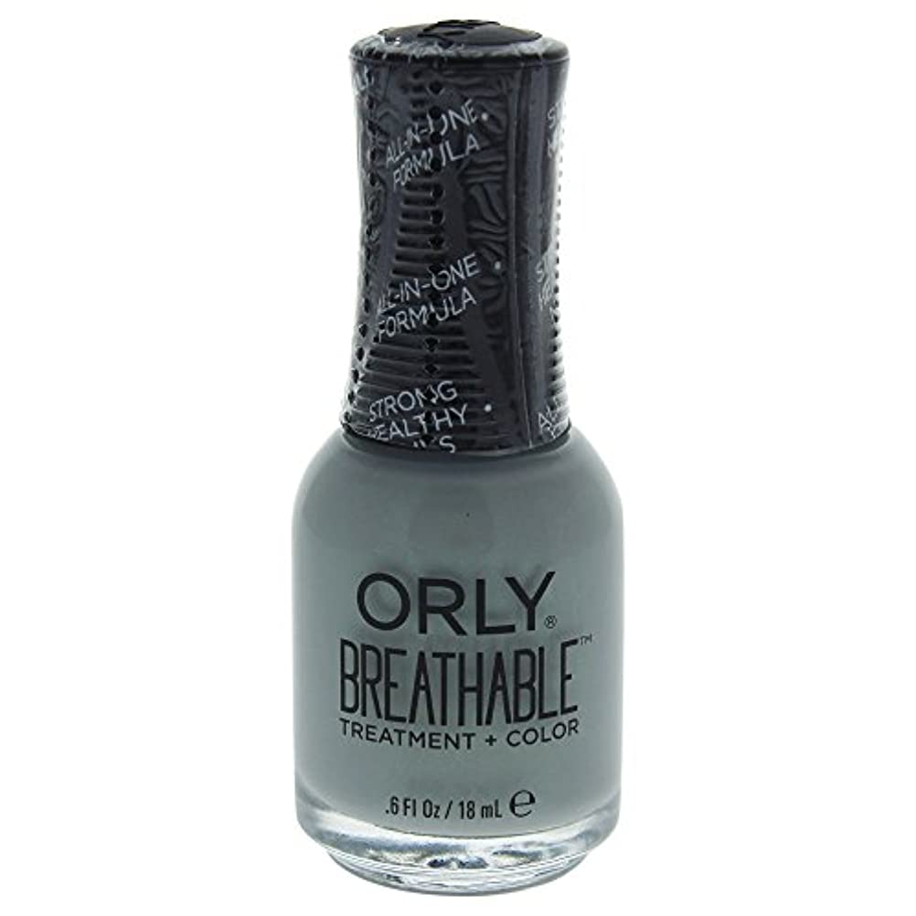 首相ドール重荷Orly Breathable Treatment + Color Nail Lacquer - Aloe, Goodbye! - 0.6oz / 18ml