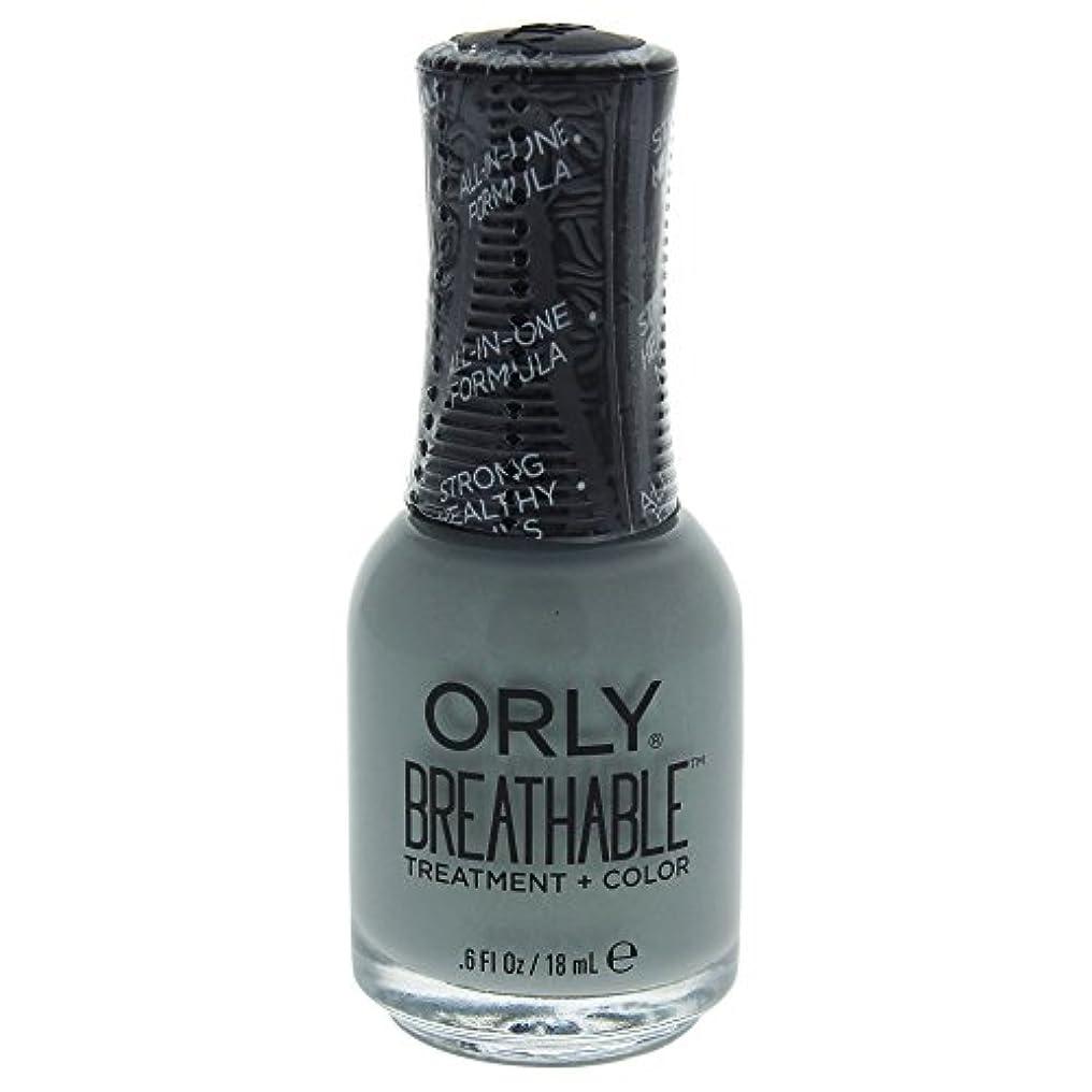 水分呼ぶに対処するOrly Breathable Treatment + Color Nail Lacquer - Aloe, Goodbye! - 0.6oz / 18ml