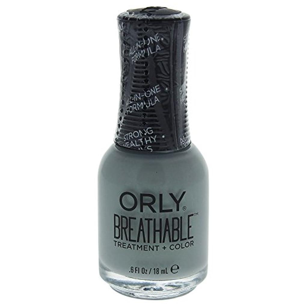 宿泊ピジン評価するOrly Breathable Treatment + Color Nail Lacquer - Aloe, Goodbye! - 0.6oz / 18ml