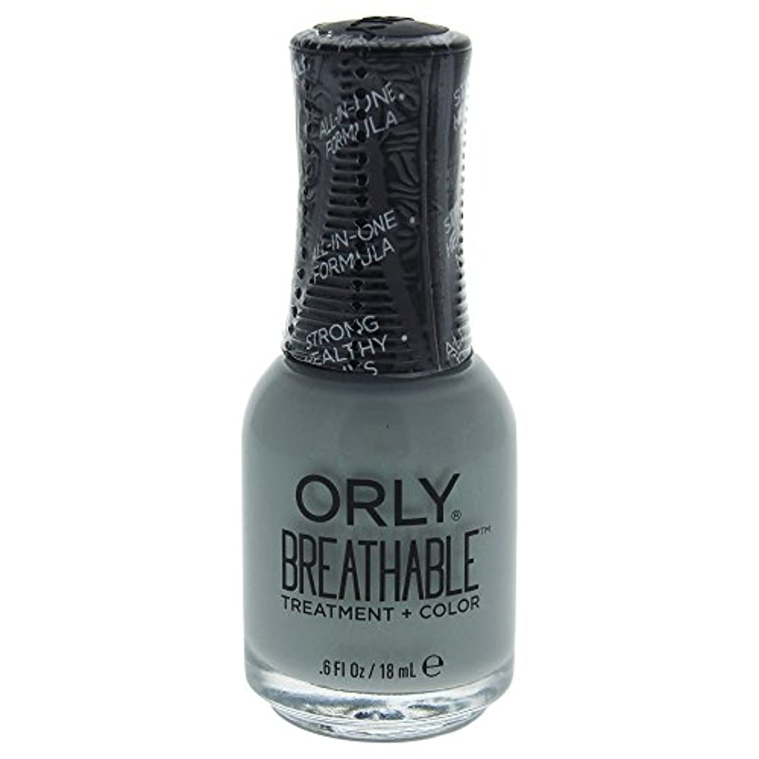 くすぐったいブレンド抗生物質Orly Breathable Treatment + Color Nail Lacquer - Aloe, Goodbye! - 0.6oz / 18ml