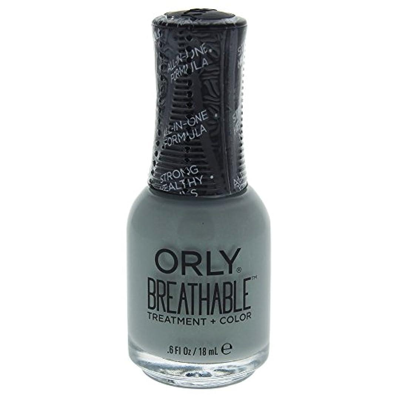 安定しましたジャンプする臭いOrly Breathable Treatment + Color Nail Lacquer - Aloe, Goodbye! - 0.6oz / 18ml