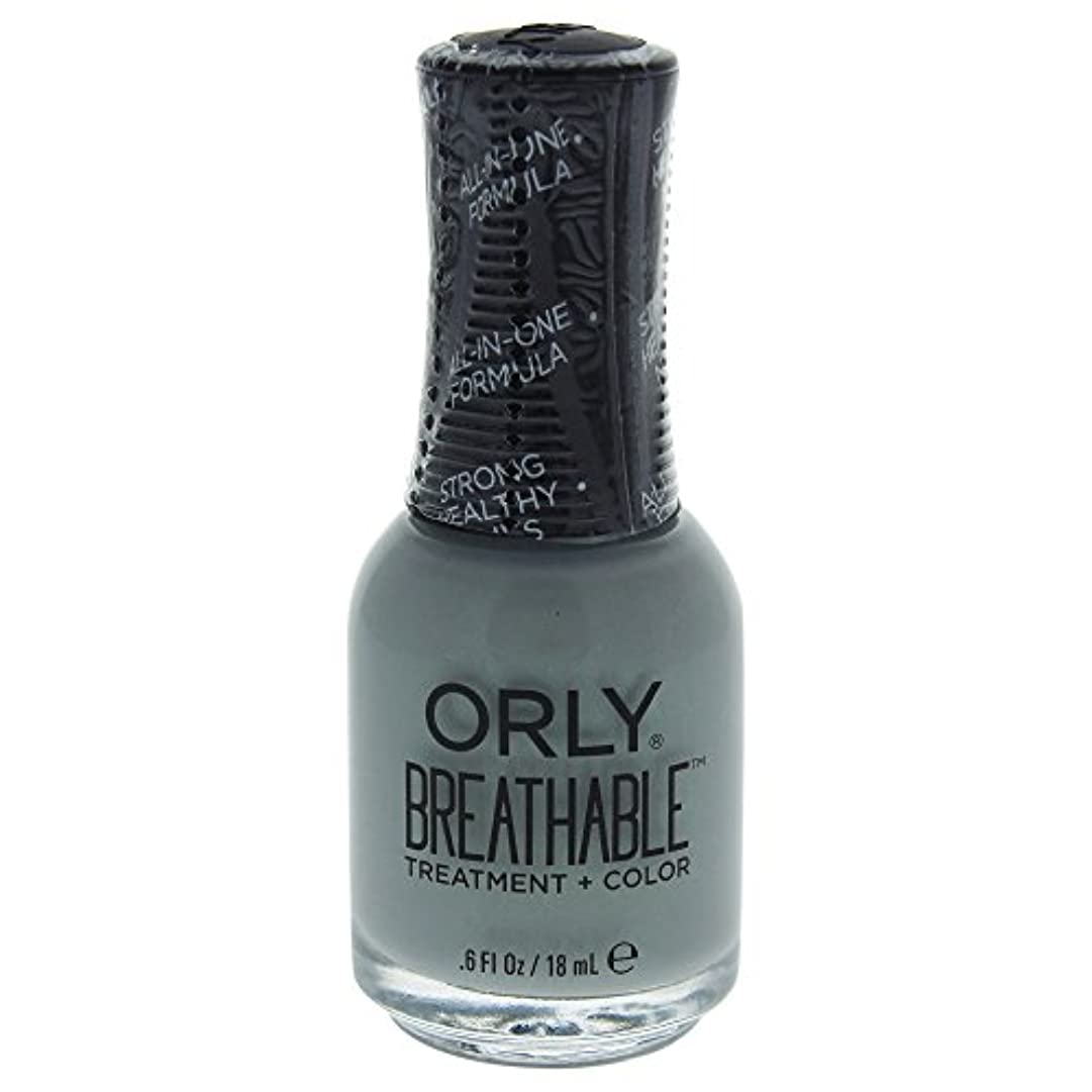 贈り物調和環境Orly Breathable Treatment + Color Nail Lacquer - Aloe, Goodbye! - 0.6oz / 18ml