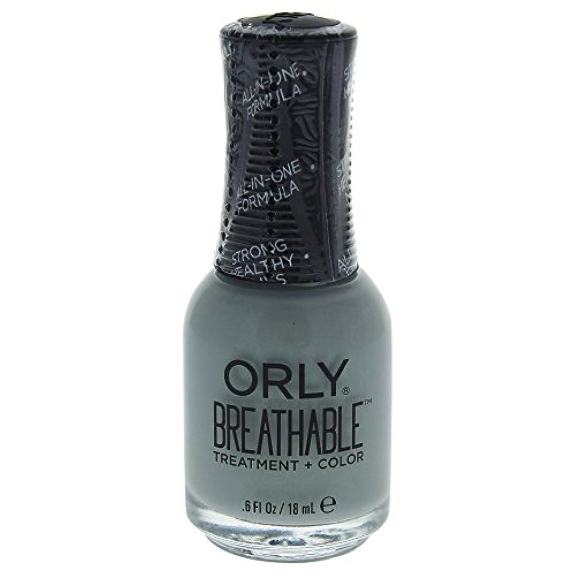 集まるいたずら宿るOrly Breathable Treatment + Color Nail Lacquer - Aloe, Goodbye! - 0.6oz / 18ml
