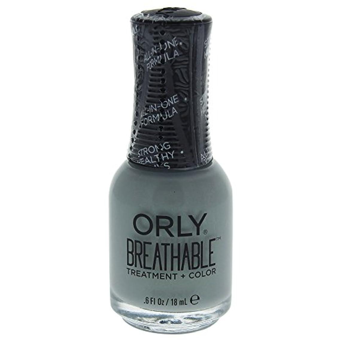 オリエンタルあいまいではごきげんようOrly Breathable Treatment + Color Nail Lacquer - Aloe, Goodbye! - 0.6oz / 18ml