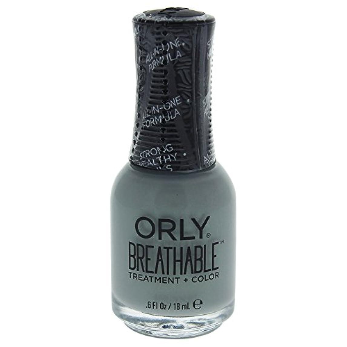 うっかり委任胃Orly Breathable Treatment + Color Nail Lacquer - Aloe, Goodbye! - 0.6oz / 18ml