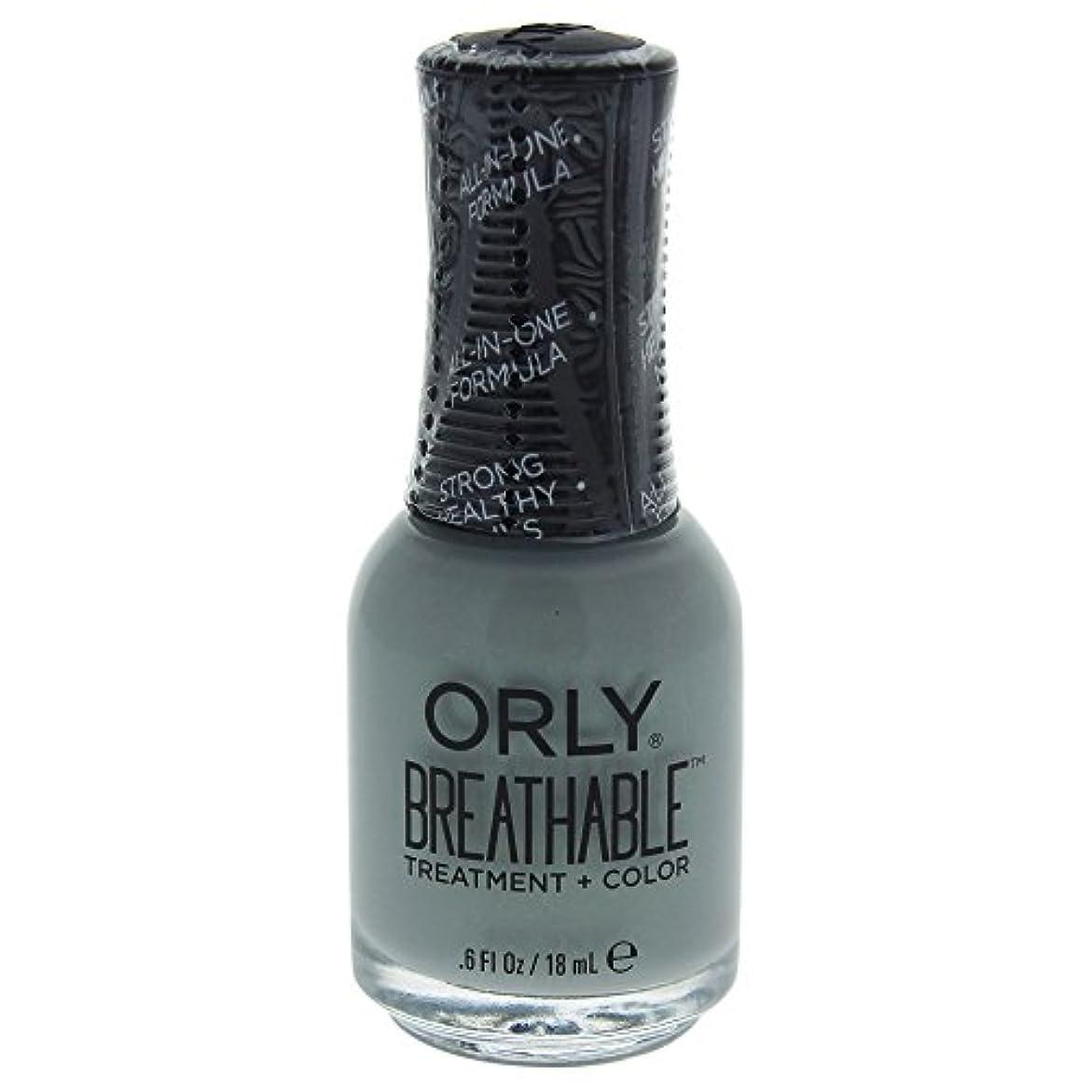 相談する欲しいですカニOrly Breathable Treatment + Color Nail Lacquer - Aloe, Goodbye! - 0.6oz / 18ml