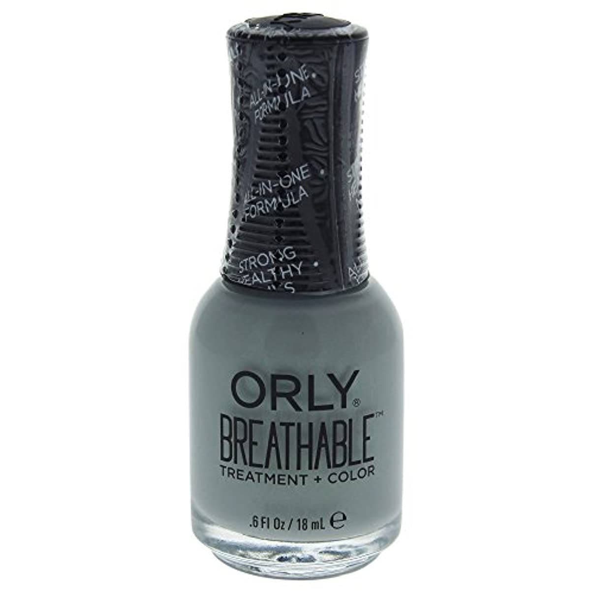 ボーカル光の精査するOrly Breathable Treatment + Color Nail Lacquer - Aloe, Goodbye! - 0.6oz / 18ml
