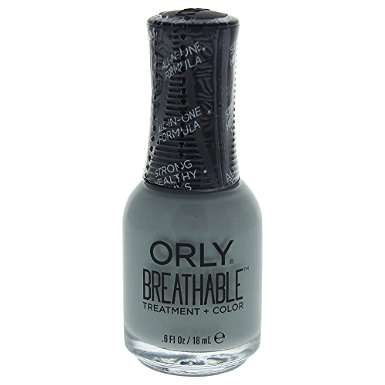 ワーディアンケース独立細断Orly Breathable Treatment + Color Nail Lacquer - Aloe, Goodbye! - 0.6oz / 18ml