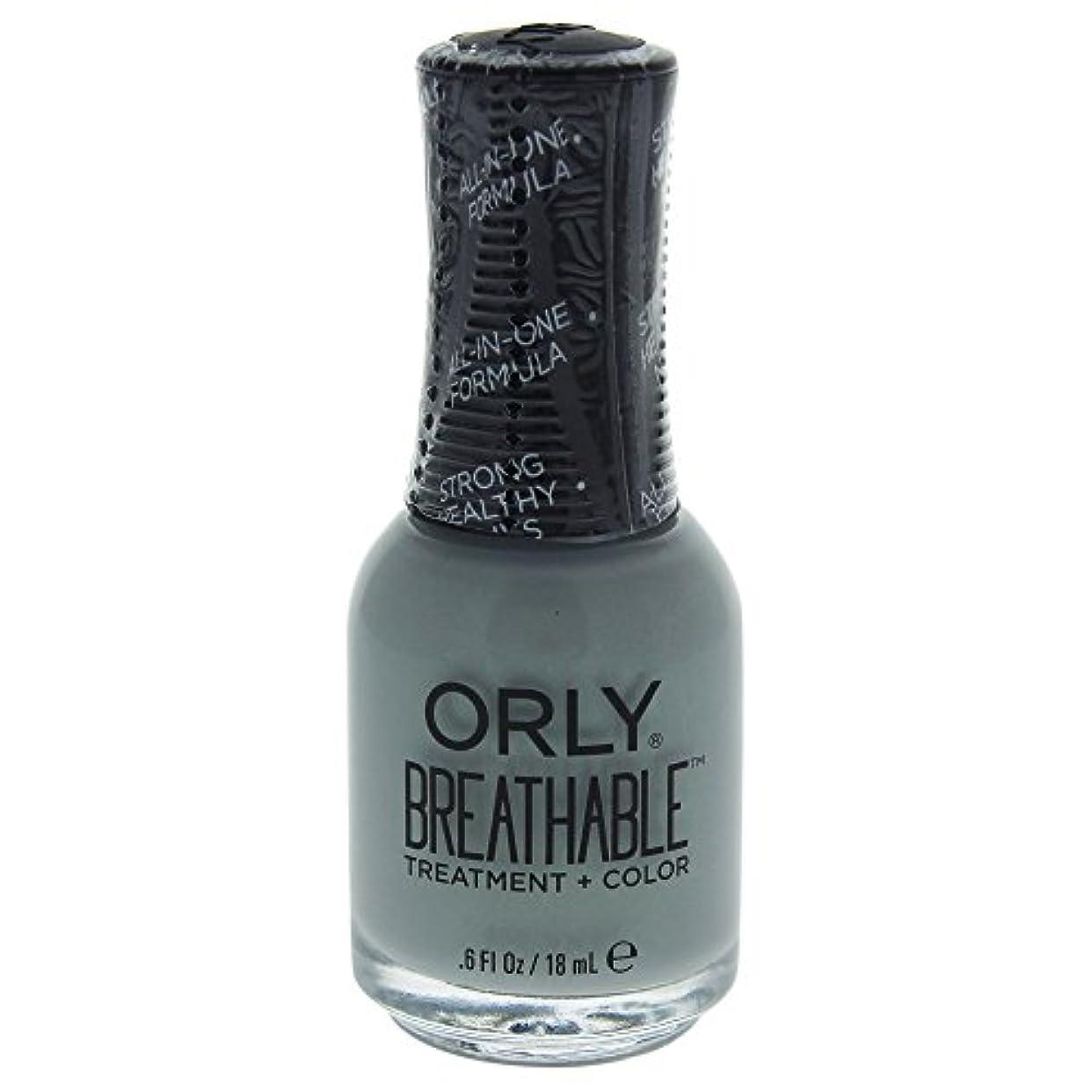 つまらないスキム弁護人Orly Breathable Treatment + Color Nail Lacquer - Aloe, Goodbye! - 0.6oz / 18ml