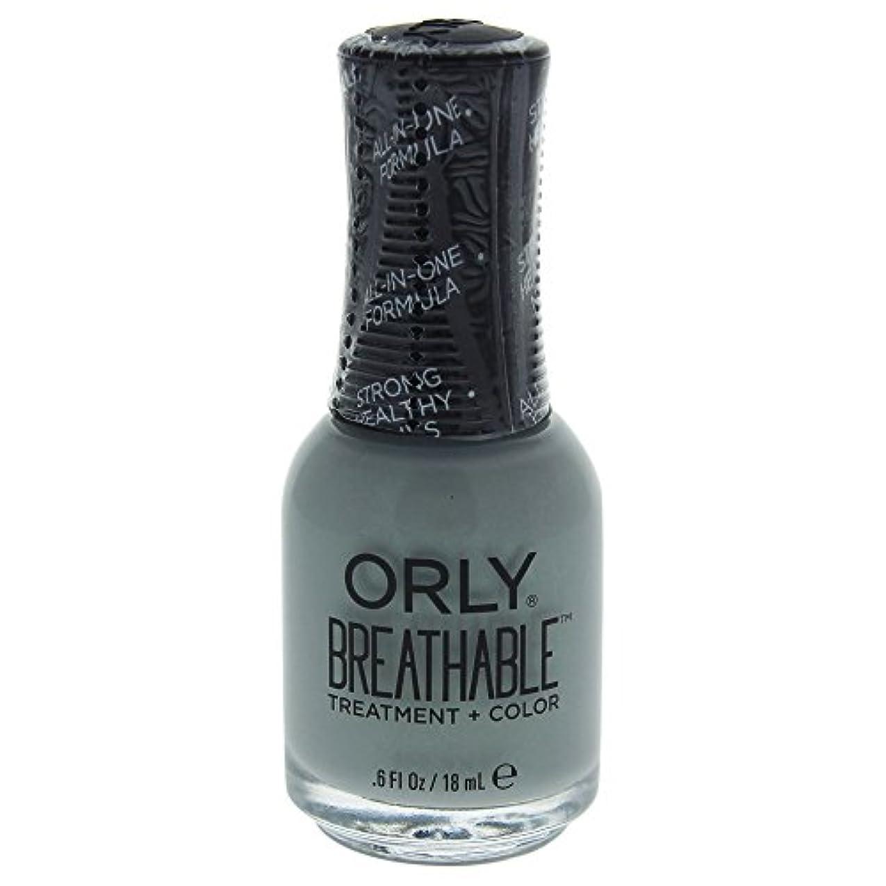 連邦検出する発音Orly Breathable Treatment + Color Nail Lacquer - Aloe, Goodbye! - 0.6oz / 18ml
