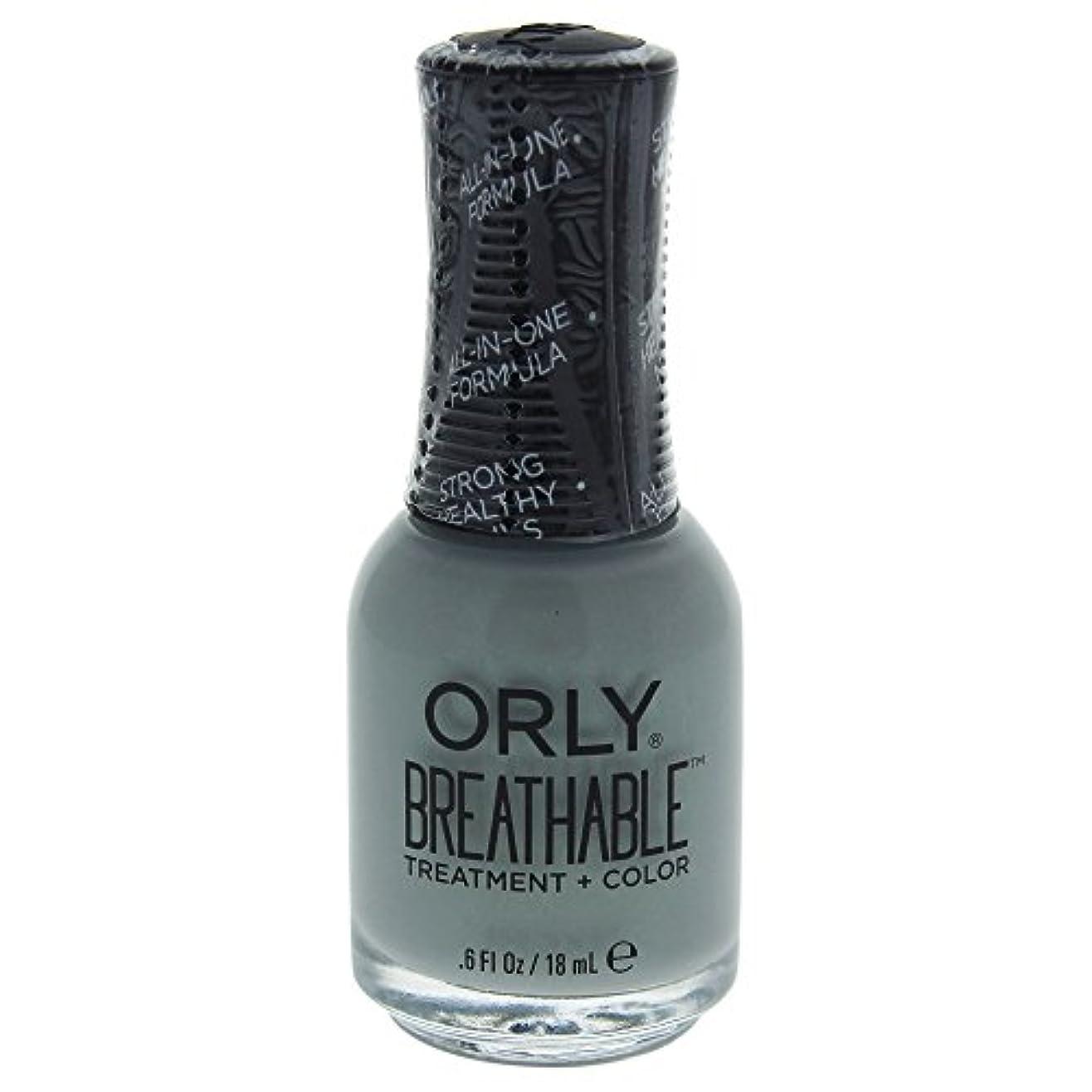 合金露出度の高い影響力のあるOrly Breathable Treatment + Color Nail Lacquer - Aloe, Goodbye! - 0.6oz / 18ml