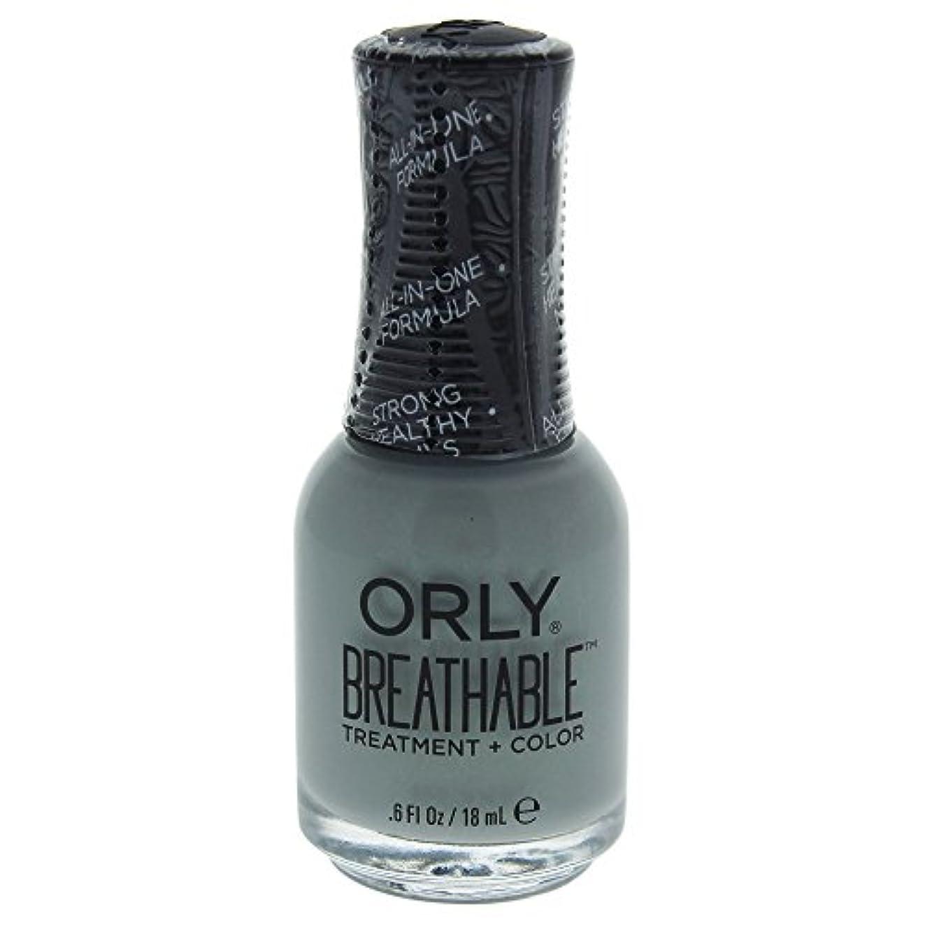 信頼性通知する疑問を超えてOrly Breathable Treatment + Color Nail Lacquer - Aloe, Goodbye! - 0.6oz / 18ml