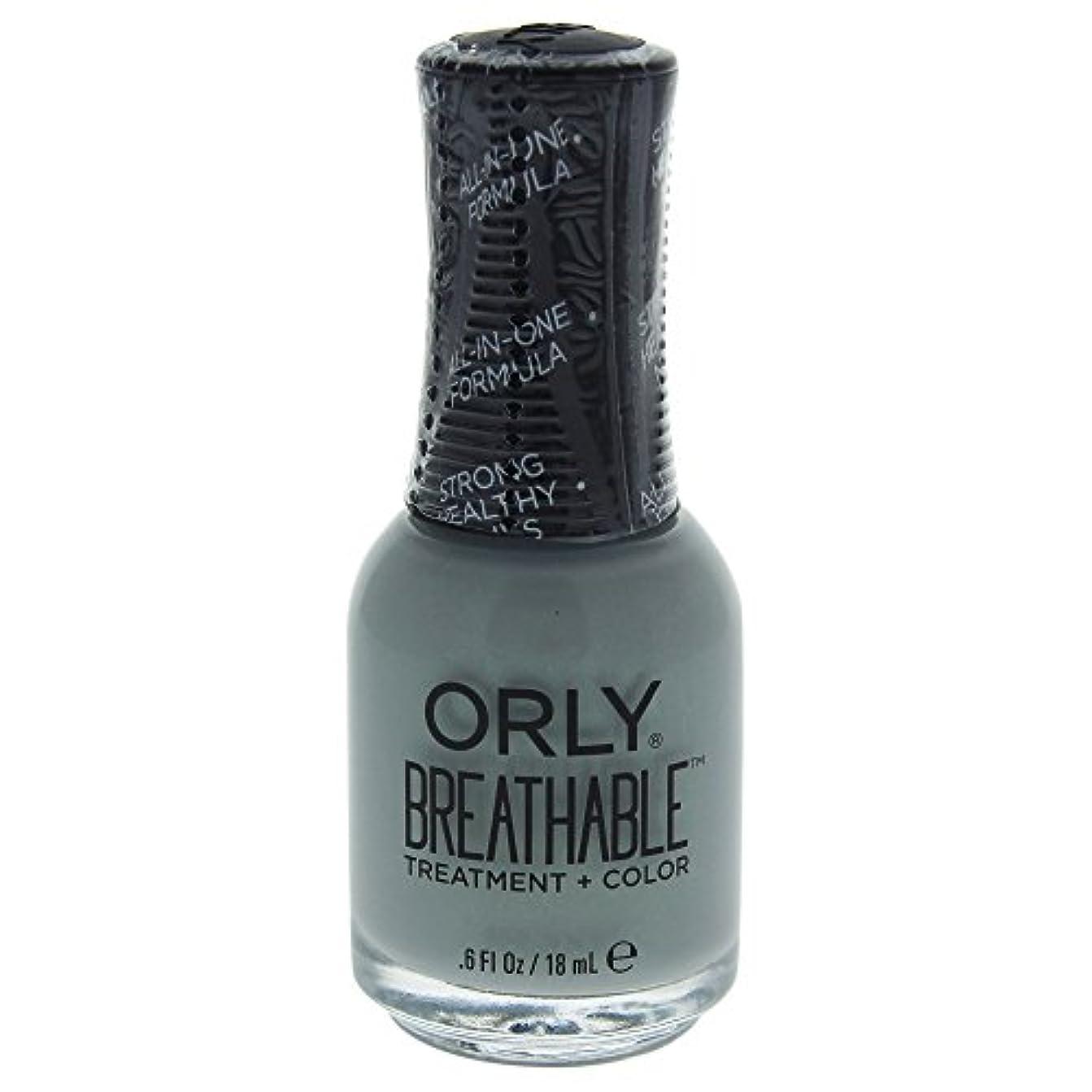 コジオスコたくさん永続Orly Breathable Treatment + Color Nail Lacquer - Aloe, Goodbye! - 0.6oz / 18ml