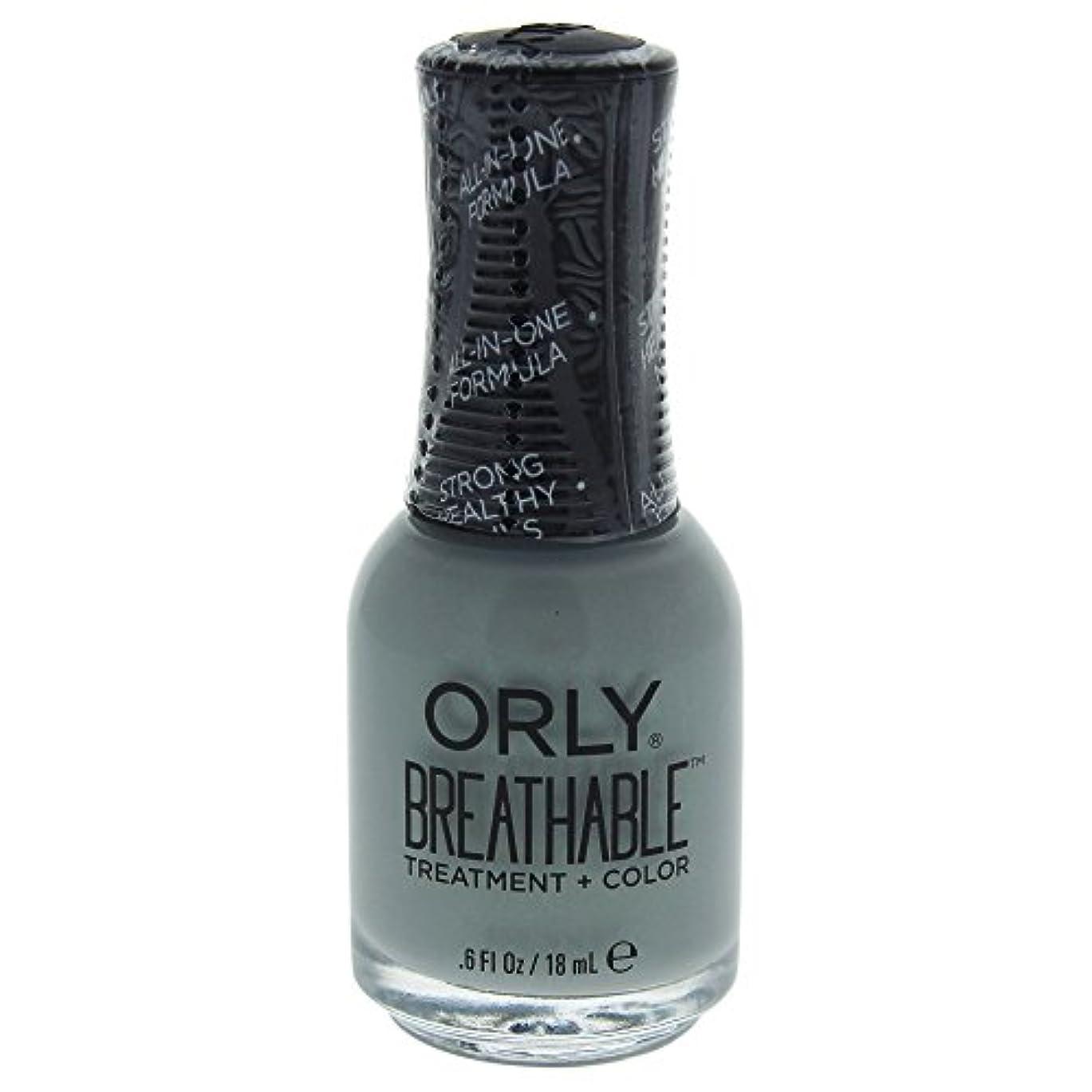 染色提供されたお香Orly Breathable Treatment + Color Nail Lacquer - Aloe, Goodbye! - 0.6oz / 18ml