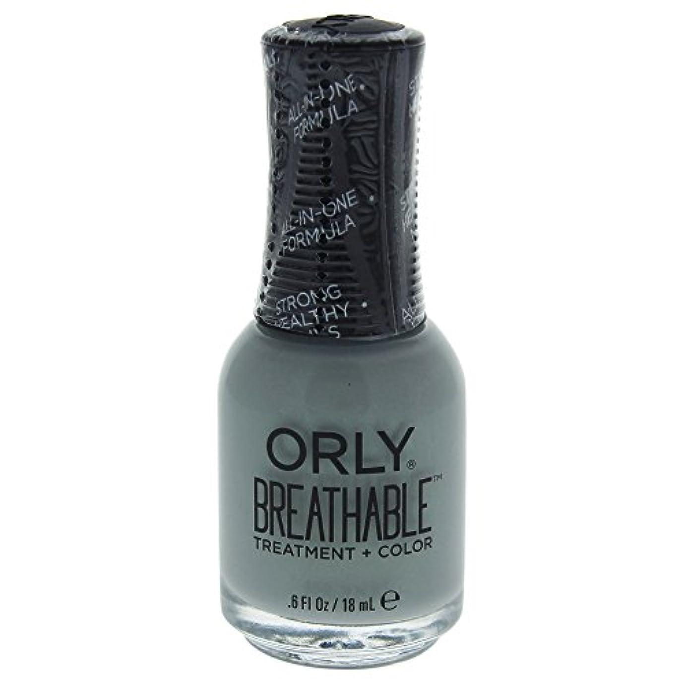 浸した毎日インポートOrly Breathable Treatment + Color Nail Lacquer - Aloe, Goodbye! - 0.6oz / 18ml