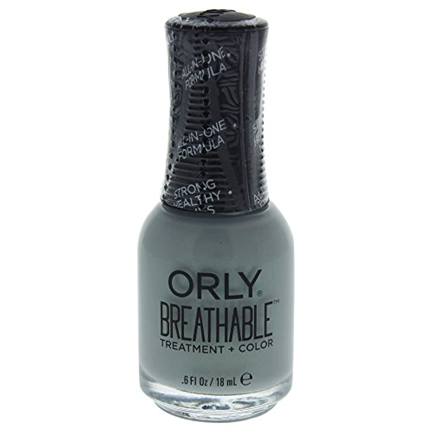 腕分析する登録Orly Breathable Treatment + Color Nail Lacquer - Aloe, Goodbye! - 0.6oz / 18ml