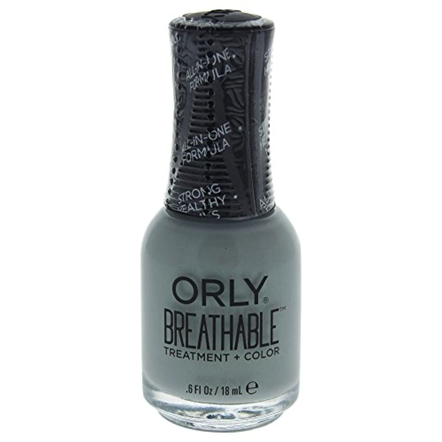 に成熟した送料Orly Breathable Treatment + Color Nail Lacquer - Aloe, Goodbye! - 0.6oz / 18ml