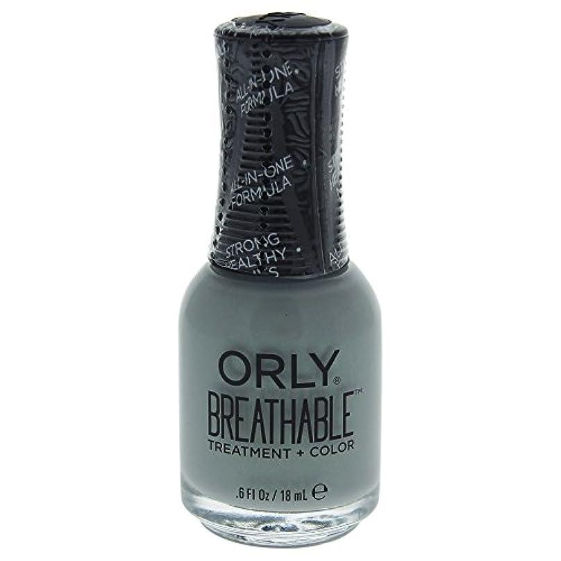 コントローラ甘い先Orly Breathable Treatment + Color Nail Lacquer - Aloe, Goodbye! - 0.6oz / 18ml