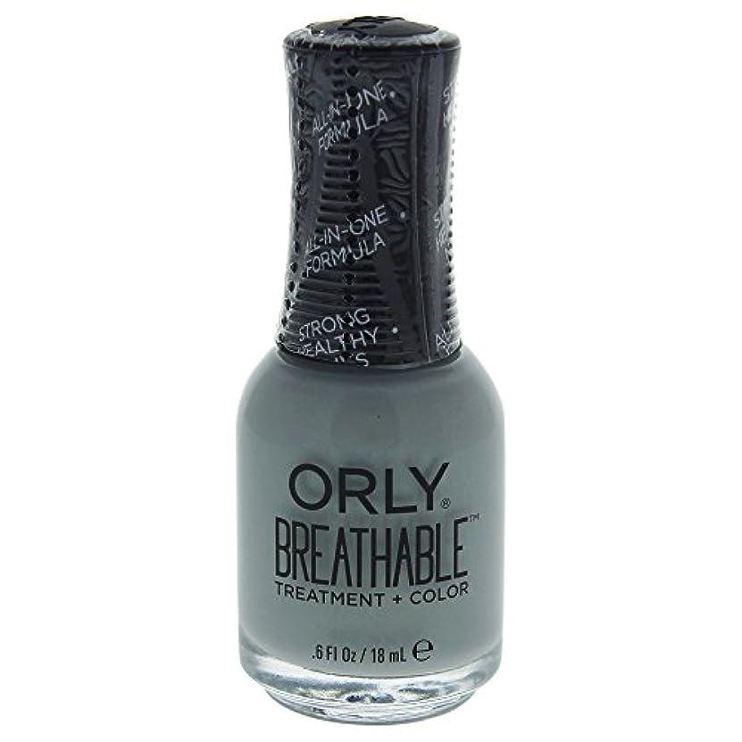 ワークショップ難破船スキップOrly Breathable Treatment + Color Nail Lacquer - Aloe, Goodbye! - 0.6oz / 18ml