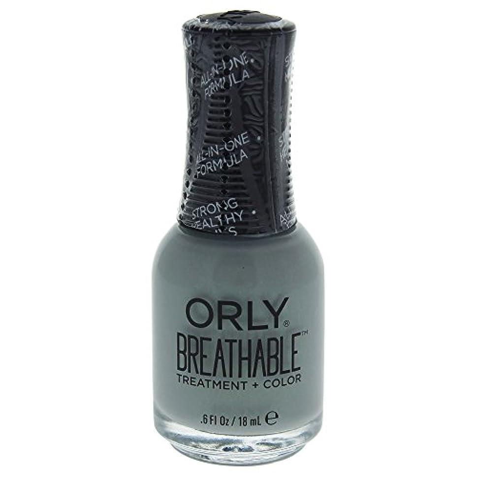 起きている専門ラップOrly Breathable Treatment + Color Nail Lacquer - Aloe, Goodbye! - 0.6oz / 18ml