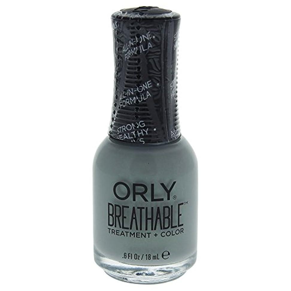 フィラデルフィア労働ギャングスターOrly Breathable Treatment + Color Nail Lacquer - Aloe, Goodbye! - 0.6oz / 18ml