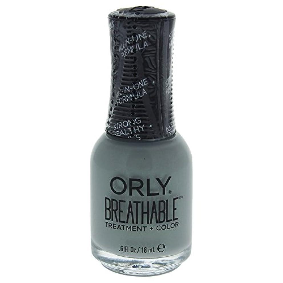 関数特許哲学博士Orly Breathable Treatment + Color Nail Lacquer - Aloe, Goodbye! - 0.6oz / 18ml