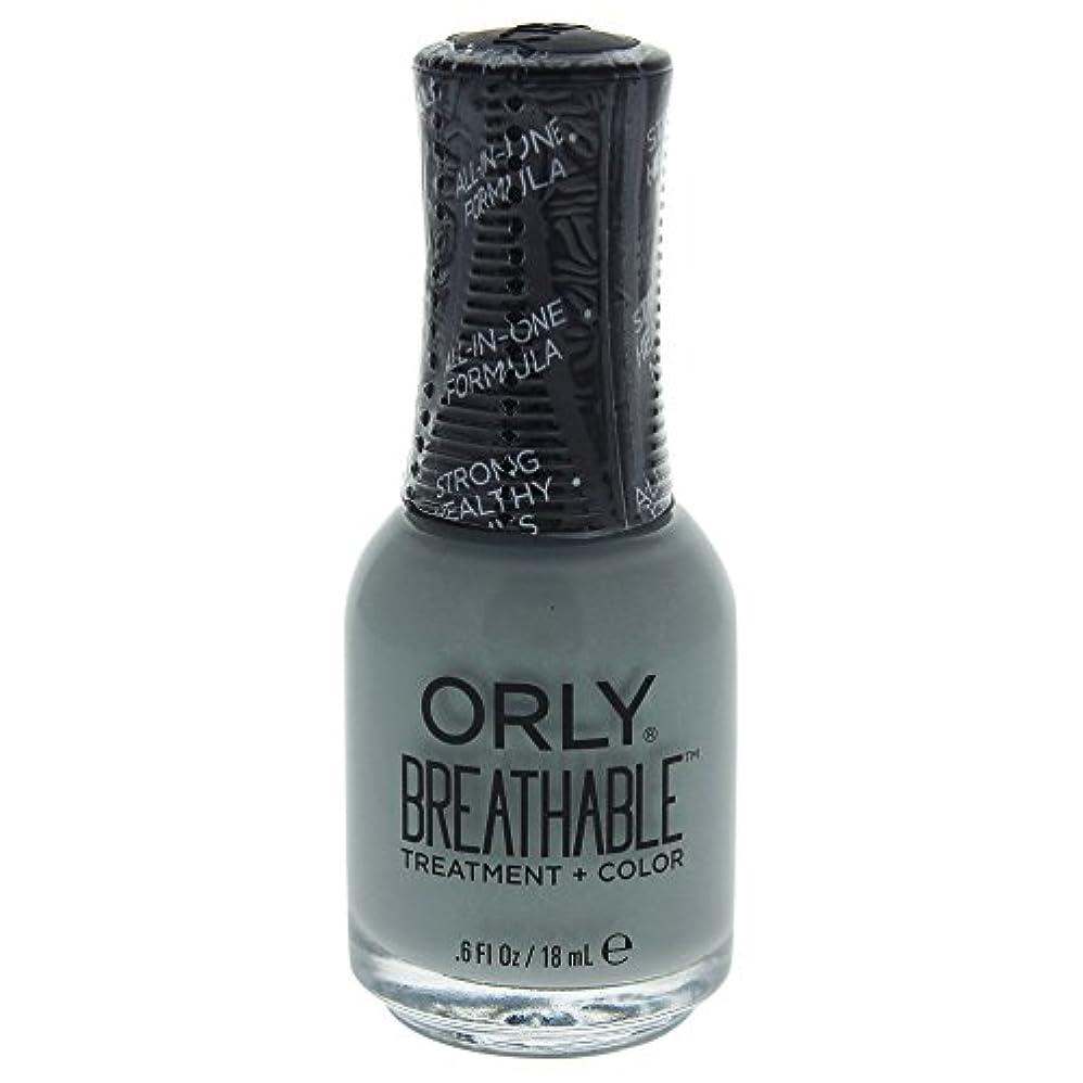 大砲成功した資源Orly Breathable Treatment + Color Nail Lacquer - Aloe, Goodbye! - 0.6oz / 18ml