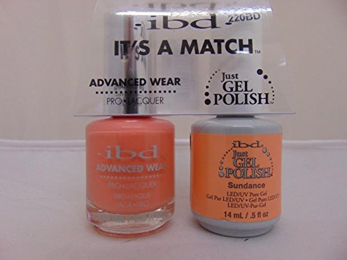 提唱する含意ゴージャスibd - It's A Match -Duo Pack- Sundance - 14 mL / 0.5 oz Each