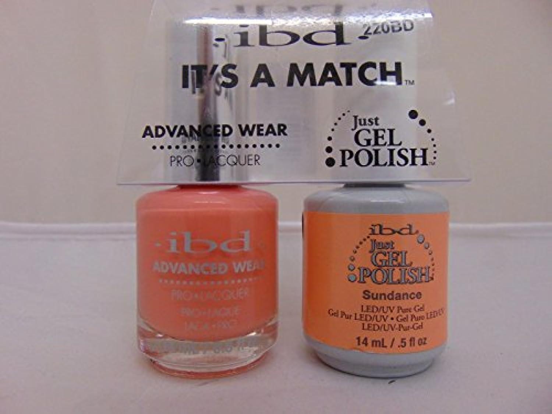 息を切らして組み合わせる透明にibd - It's A Match -Duo Pack- Sundance - 14 mL / 0.5 oz Each