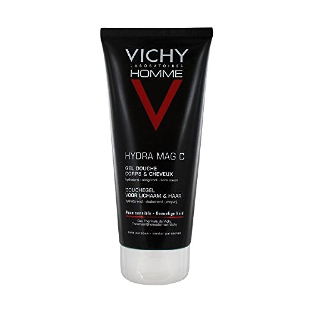 南方の恩赦可聴Vichy Homme Hydra Mag-c Shower Gel 200 Ml [並行輸入品]