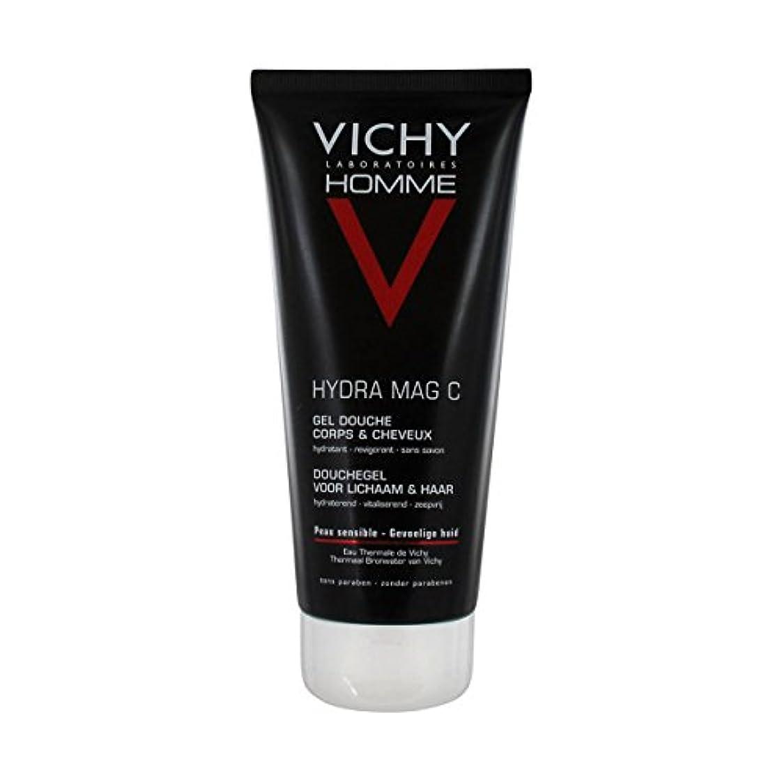 Vichy Homme Hydra Mag-c Shower Gel 200 Ml [並行輸入品]