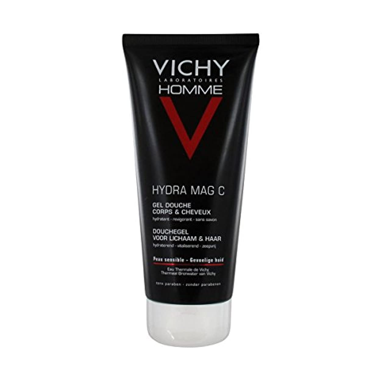 答え洗練生Vichy Homme Hydra Mag-c Shower Gel 200 Ml [並行輸入品]