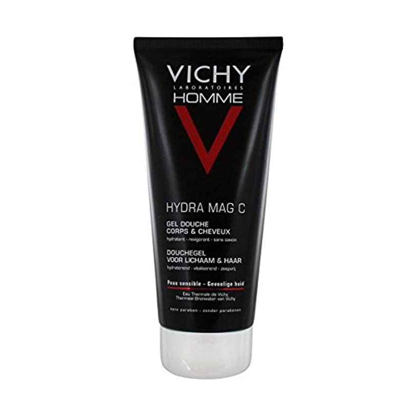 気質着る靄Vichy Homme Hydra Mag-c Shower Gel 200 Ml [並行輸入品]