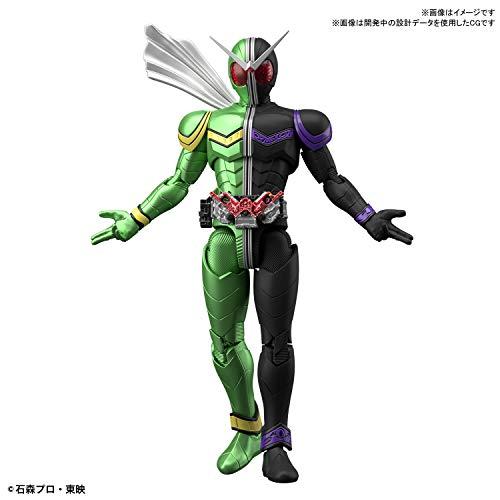 フィギュアライズスタンダード 仮面ライダーW サイクロンジョーカー 色分け済みプラモデル
