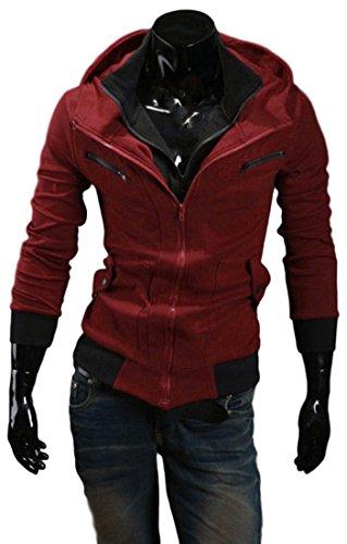 [해외]Next house 남성 패션 재킷 서 칼라 후드 짚업 길이 소매 겉옷 파커 큰 사이즈 있음/Next house Men`s fashion jacket stand-up collar Hooded zip up long sleeve outer covera big size available