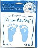 赤ちゃん誕生 お祝いCD&グリーティングカード (Boy)