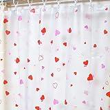 ピュアハート シャワーカーテン 半透明 120×150 防カビ 日本製